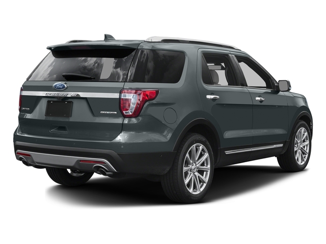Guard Metallic 2016 Ford Explorer Pictures Explorer Utility 4D Limited 2WD V6 photos rear view