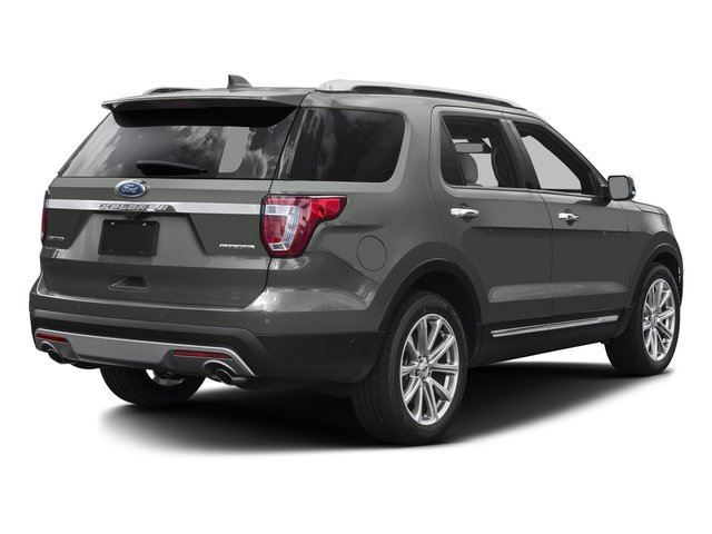 Magnetic Metallic 2016 Ford Explorer Pictures Explorer Utility 4D Limited 2WD V6 photos rear view