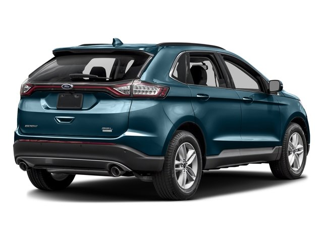 Too Good To Be Blue Metallic 2016 Ford Edge Pictures Edge Utility 4D SEL 2WD V6 photos rear view