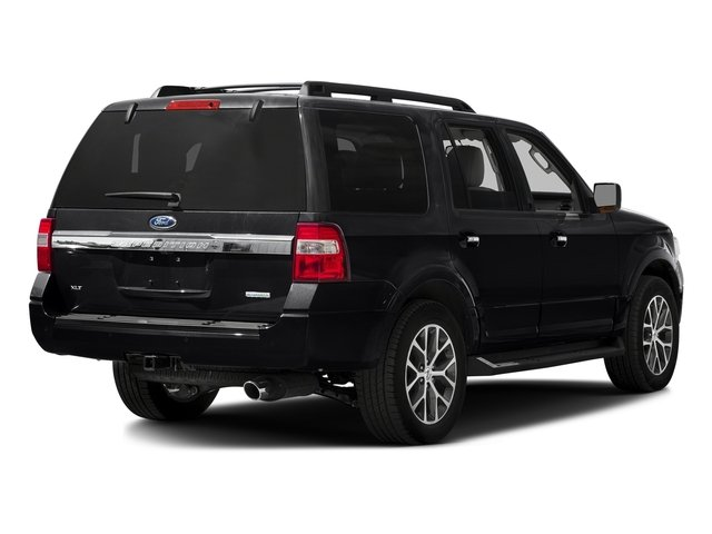 Shadow Black 2016 Ford Expedition Pictures Expedition Utility 4D XLT 4WD V6 Turbo photos rear view