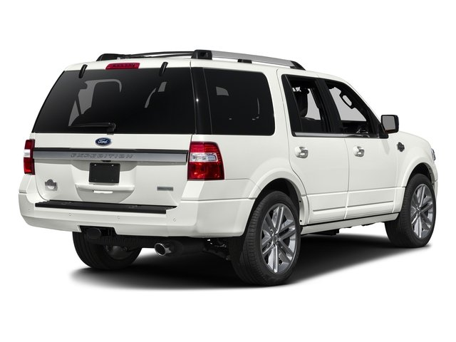 White Platinum Metallic Tri-Coat 2016 Ford Expedition Pictures Expedition Utility 4D King Ranch 4WD V6 Turbo photos rear view
