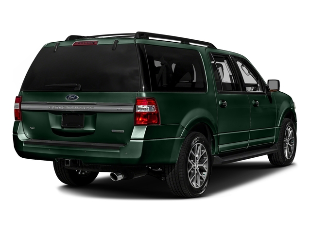 Green Gem Metallic 2016 Ford Expedition EL Pictures Expedition EL Utility 4D XLT 2WD V6 Turbo photos rear view