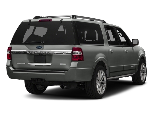 Magnetic Metallic 2016 Ford Expedition EL Pictures Expedition EL Utility 4D Platinum 2WD V6 Turbo photos rear view