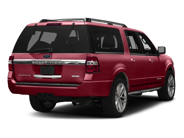 Ruby Red Metallic Tinted Clearcoat 2016 Ford Expedition EL Pictures Expedition EL Utility 4D Platinum 2WD V6 Turbo photos rear view