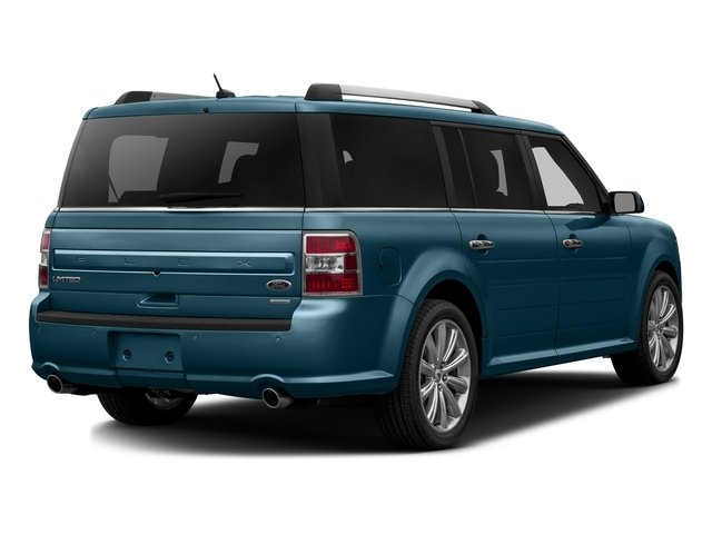 Too Good To Be Blue Metallic 2016 Ford Flex Pictures Flex Wagon 4D Limited AWD photos rear view