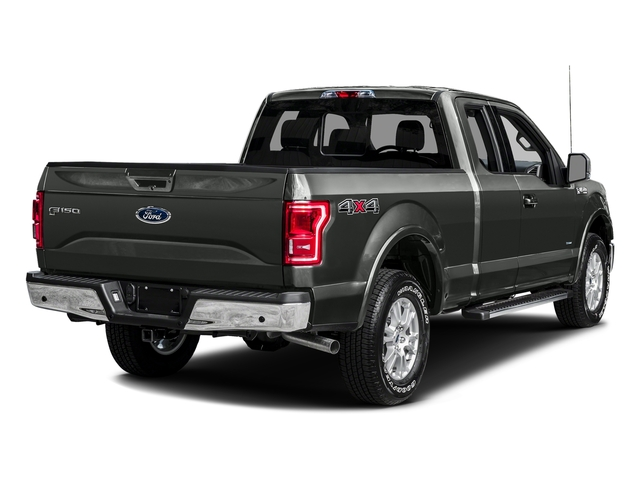 Magnetic Metallic 2016 Ford F-150 Pictures F-150 Supercab Lariat 2WD photos rear view