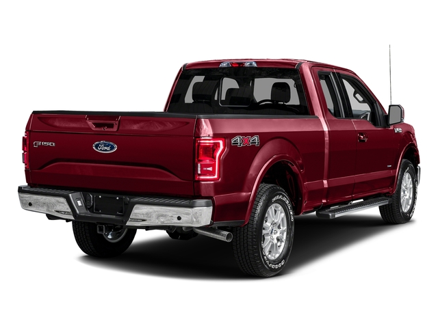 Ruby Red Metallic Tinted Clearcoat 2016 Ford F-150 Pictures F-150 Supercab Lariat 2WD photos rear view