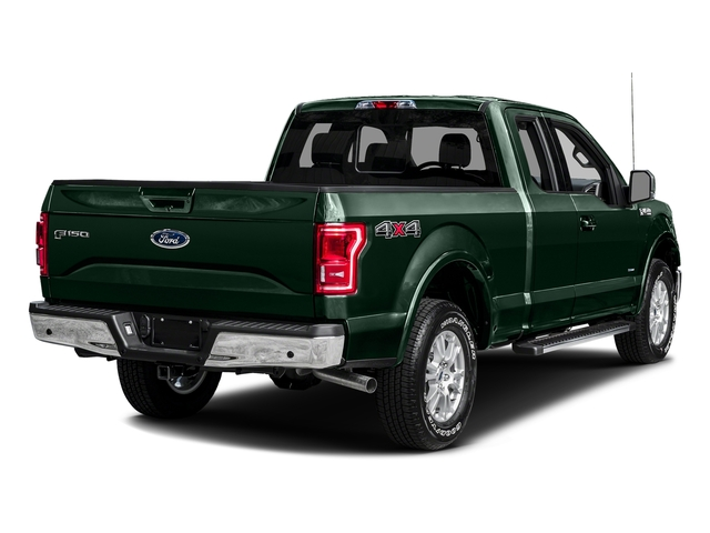 Green Gem Metallic 2016 Ford F-150 Pictures F-150 Supercab Lariat 2WD photos rear view
