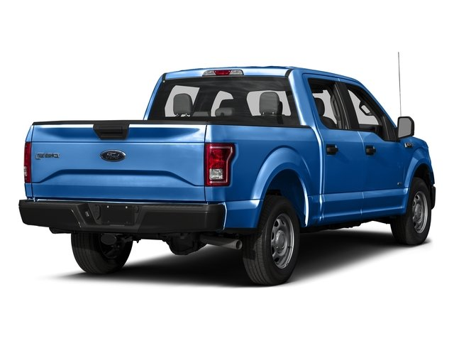 Blue Flame Metallic 2016 Ford F-150 Pictures F-150 Crew Cab XL 2WD photos rear view