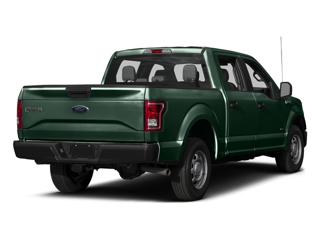 Green Gem Metallic 2016 Ford F-150 Pictures F-150 Crew Cab XL 2WD photos rear view