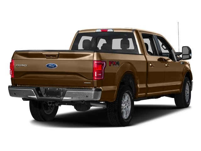 Bronze Fire Metallic 2016 Ford F-150 Pictures F-150 Crew Cab Lariat 4WD photos rear view