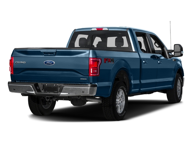 Blue Jeans Metallic 2016 Ford F-150 Pictures F-150 Crew Cab Lariat 4WD photos rear view