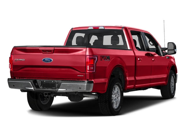 Race Red 2016 Ford F-150 Pictures F-150 Crew Cab Lariat 4WD photos rear view