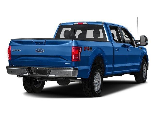 Blue Flame Metallic 2016 Ford F-150 Pictures F-150 Crew Cab Lariat 4WD photos rear view