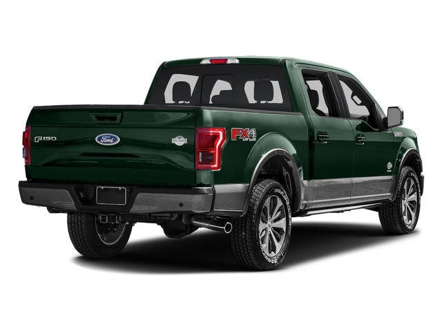 Green Gem Metallic 2016 Ford F-150 Pictures F-150 Crew Cab King Ranch 4WD photos rear view