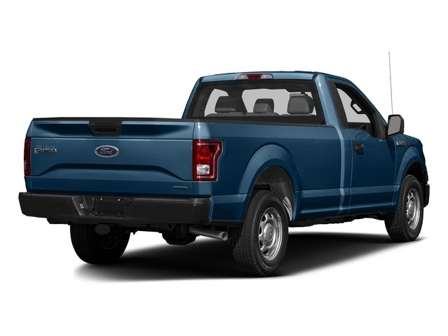 Blue Jeans Metallic 2016 Ford F-150 Pictures F-150 Regular Cab XL 4WD photos rear view