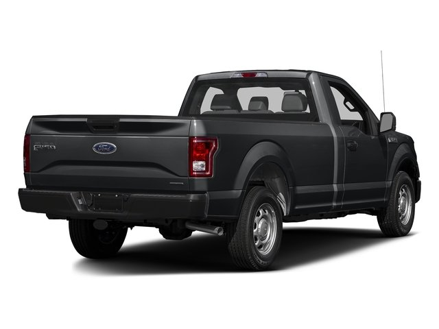 Lithium Gray 2016 Ford F-150 Pictures F-150 Regular Cab XL 2WD photos rear view