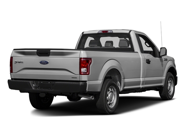 Ingot Silver Metallic 2016 Ford F-150 Pictures F-150 Regular Cab XL 4WD photos rear view