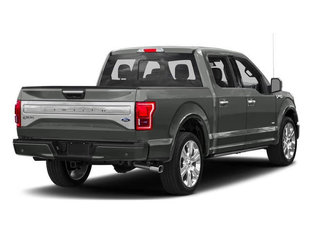 Magnetic Metallic 2016 Ford F-150 Pictures F-150 Crew Cab Limited EcoBoost 2WD photos rear view