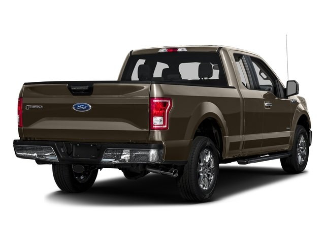 Caribou Metallic 2016 Ford F-150 Pictures F-150 Supercab XLT 2WD photos rear view