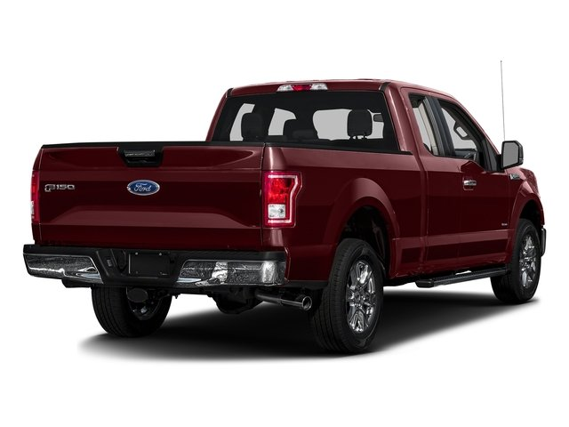 Bronze Fire Metallic 2016 Ford F-150 Pictures F-150 Supercab XLT 2WD photos rear view