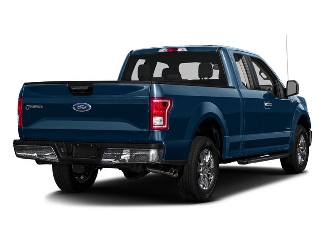 Blue Jeans Metallic 2016 Ford F-150 Pictures F-150 Supercab XLT 2WD photos rear view