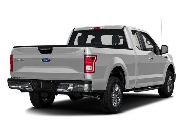 Ingot Silver Metallic 2016 Ford F-150 Pictures F-150 Supercab XLT 2WD photos rear view