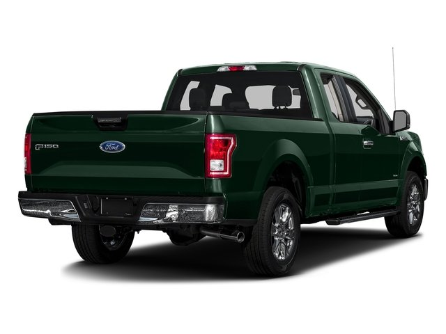 Green Gem Metallic 2016 Ford F-150 Pictures F-150 Supercab XLT 2WD photos rear view
