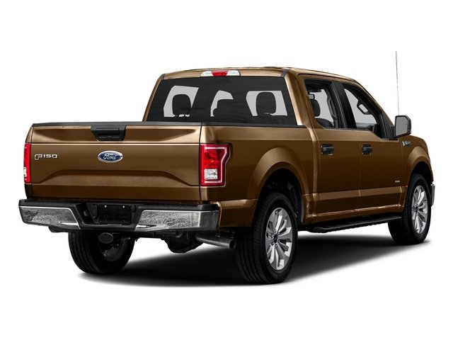 Bronze Fire Metallic 2016 Ford F-150 Pictures F-150 Crew Cab XLT 2WD photos rear view