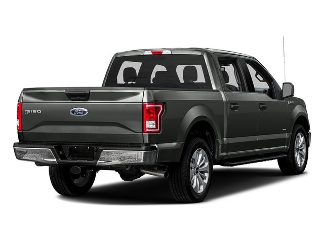 Magnetic Metallic 2016 Ford F-150 Pictures F-150 Crew Cab XLT 2WD photos rear view