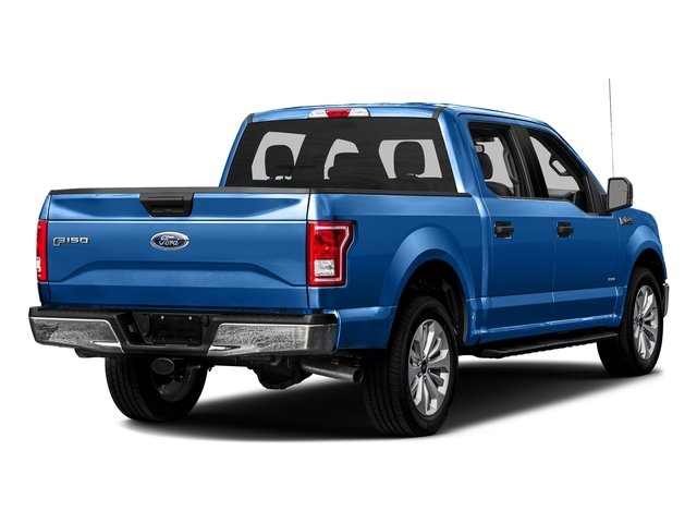 Blue Flame Metallic 2016 Ford F-150 Pictures F-150 Crew Cab XLT 2WD photos rear view