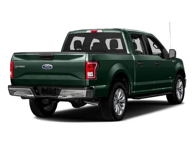 Green Gem Metallic 2016 Ford F-150 Pictures F-150 Crew Cab XLT 2WD photos rear view