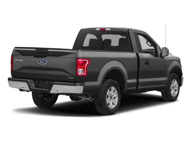 Magnetic Metallic 2016 Ford F-150 Pictures F-150 Regular Cab XLT 2WD photos rear view