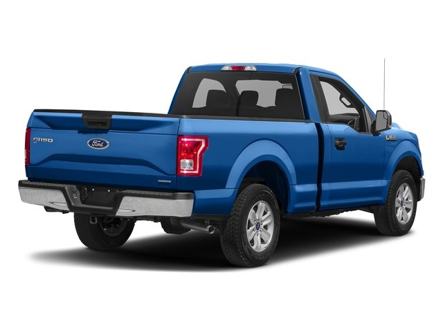 Blue Flame Metallic 2016 Ford F-150 Pictures F-150 Regular Cab XLT 2WD photos rear view