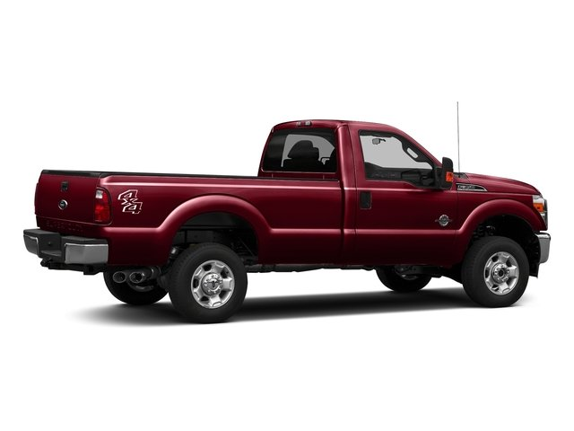 Ruby Red Metallic Tinted Clearcoat 2016 Ford Super Duty F-350 DRW Pictures Super Duty F-350 DRW Regular Cab XLT 2WD photos rear view