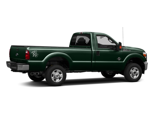 Green Gem Metallic 2016 Ford Super Duty F-350 DRW Pictures Super Duty F-350 DRW Regular Cab XLT 2WD photos rear view