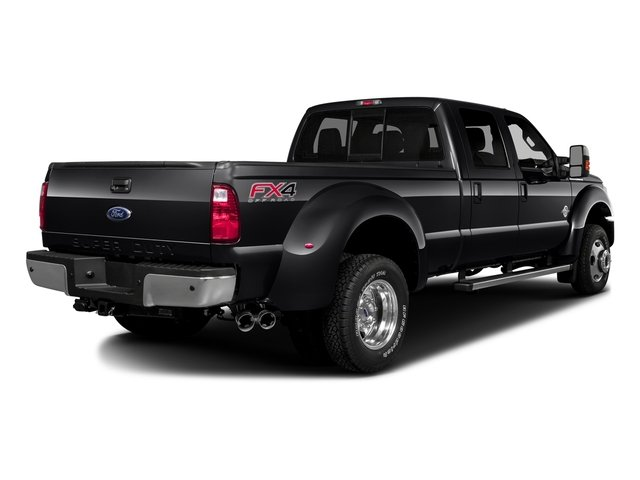 Shadow Black 2016 Ford Super Duty F-350 DRW Pictures Super Duty F-350 DRW Crew Cab Platinum 4WD photos rear view