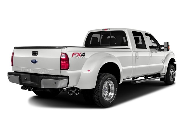Oxford White 2016 Ford Super Duty F-350 DRW Pictures Super Duty F-350 DRW Crew Cab XL 2WD photos rear view
