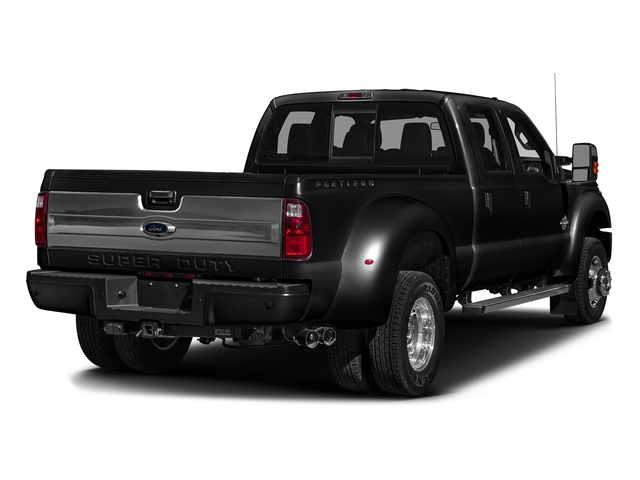 Shadow Black 2016 Ford Super Duty F-450 DRW Pictures Super Duty F-450 DRW Crew Cab Platinum 4WD T-Diesel photos rear view