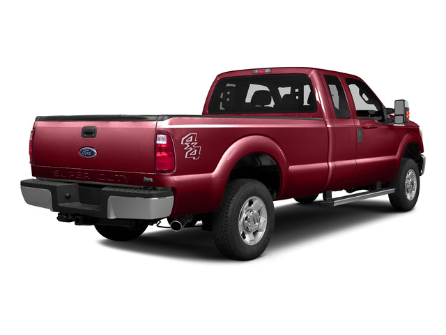 Ruby Red Metallic Tinted Clearcoat 2016 Ford Super Duty F-250 SRW Pictures Super Duty F-250 SRW Supercab XLT 2WD photos rear view