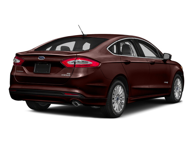 Bronze Fire Metallic Tinted Clearcoat 2016 Ford Fusion Pictures Fusion Sedan 4D S I4 Hybrid photos rear view