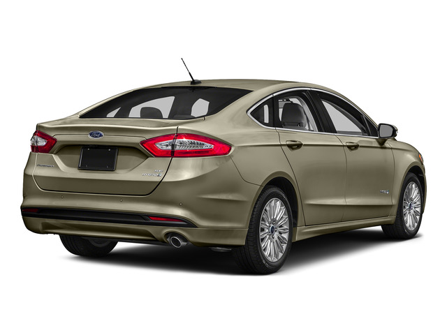 Tectonic 2016 Ford Fusion Pictures Fusion Sedan 4D S I4 Hybrid photos rear view