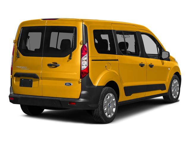 School Bus Yellow 2016 Ford Transit Connect Wagon Pictures Transit Connect Wagon Extended Passenger Van XL photos rear view