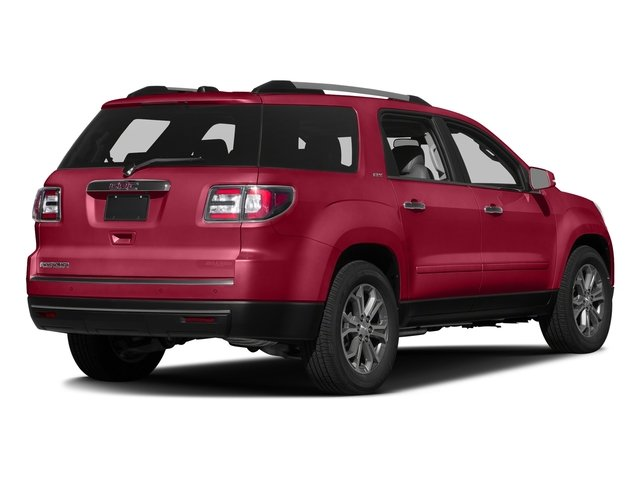Crimson Red Tintcoat 2016 GMC Acadia Pictures Acadia Utility 4D SLT AWD V6 photos rear view