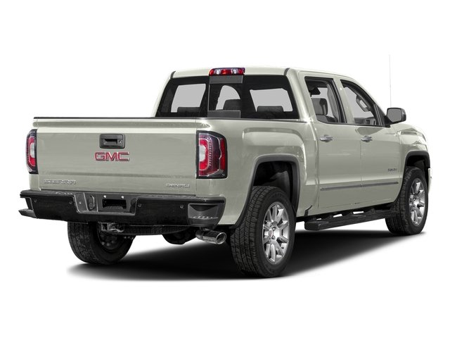 White Frost Tricoat 2016 GMC Sierra 1500 Pictures Sierra 1500 Crew Cab Denali 2WD photos rear view