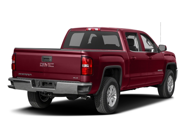 Crimson Red Tintcoat 2016 GMC Sierra 1500 Pictures Sierra 1500 Crew Cab SLE 2WD photos rear view