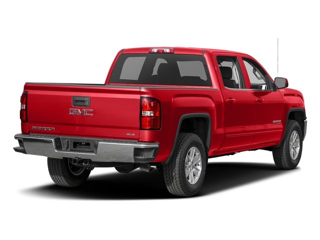 Cardinal Red 2016 GMC Sierra 1500 Pictures Sierra 1500 Crew Cab SLE 2WD photos rear view