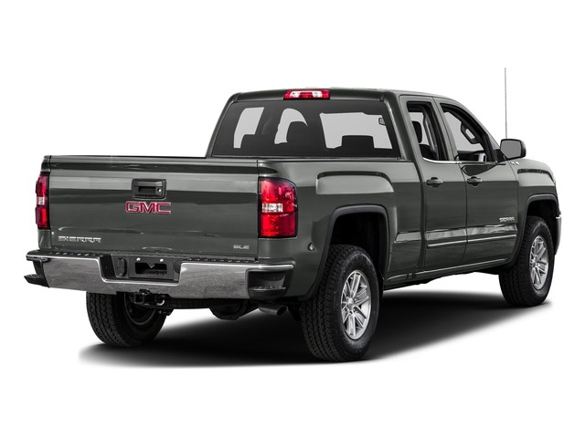 Light Steel Gray Metallic 2016 GMC Sierra 1500 Pictures Sierra 1500 Extended Cab SLE 4WD photos rear view