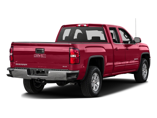 Crimson Red Tintcoat 2016 GMC Sierra 1500 Pictures Sierra 1500 Extended Cab SLE 4WD photos rear view