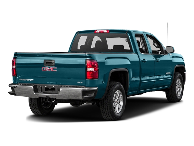 Stone Blue Metallic 2016 GMC Sierra 1500 Pictures Sierra 1500 Extended Cab SLE 4WD photos rear view